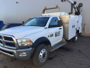 2014 Dodge RAM 5500 Service Mechanic Truck 78,000 kms