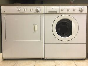 GE Spacemaker Washer and Dryer