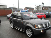Land Rover Range Rover Sport 2.7TD V6 auto 2006 HSE, CHOICE OF 2