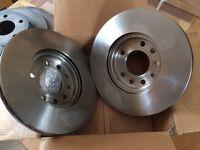 Astra mk4 5 stud brake discs and pads brand new.