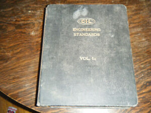 CIL Engineering Standards Book 1958