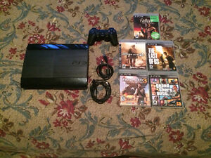 $40 PS3 with one controller, and 3 games