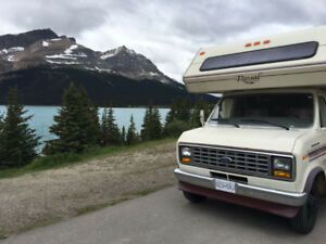 1987 FORD ROYAL CLASSIC, 26ft, Class C, 111.500 km