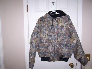 Brand new Walls men's Oilfield Camo winter jacket