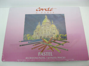 CONTE PASTEL PENCIL SET 48pcs / Ensemble Pastel Conte 48pcs