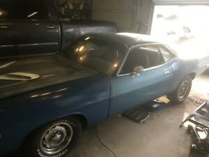 Real 1974 Cuda for sale