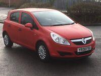 Vauxhall Corsa 1.2 life 2008 full mot