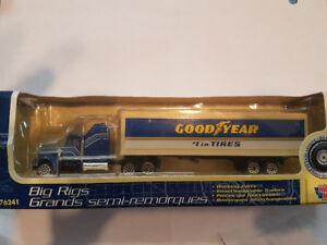 Die cast truck & trailer