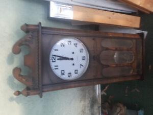 Grandfather clock. Needs some TLC