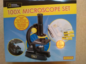 As new Microscope, National Geographic