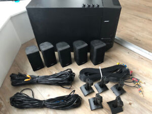 Bose Acoustimass 15 Home Theatre System w/ Wall Mounts