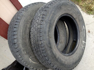 "215/85R16 Michelin X truck tires - Load Range ""D"""