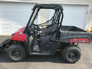 2012 POLARIS 500 RANGER ( PLOW ) $60.00