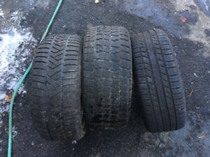 2 Winter/1 All Season Tires