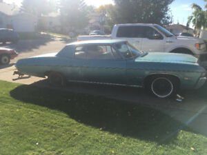 1968 Chevrolet Impala Project Car