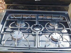 black gas stove Kitchener / Waterloo Kitchener Area image 2