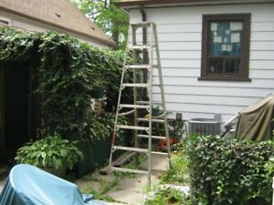good solid strong 8' ladder. price firm.