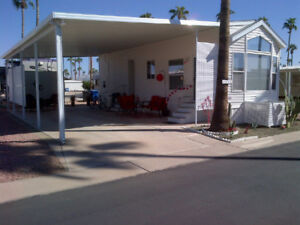 PARK MODEL RENTAL - TOWERPOINT RESORT - MESA ARIZONA