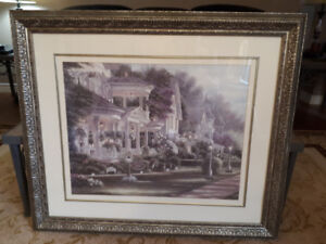 Nice Large Framed Wall PICTURE !!!