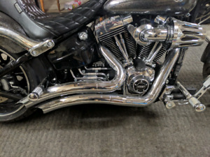 Vance and Hines 2-2 Big Radius Harley Davidson Dyna/Softail/Tour