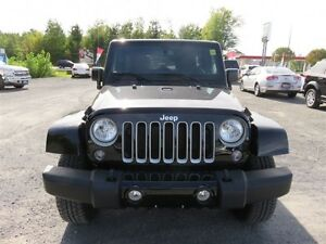 2016 Jeep Wrangler Unlimited SAHARA   - 4x4 - $266.48 B/W - Low  Cornwall Ontario image 2