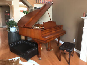 august forst anti piano!ivory keyborad,good maintain!good deal!