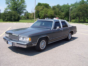 Grand Marquis never winter driven