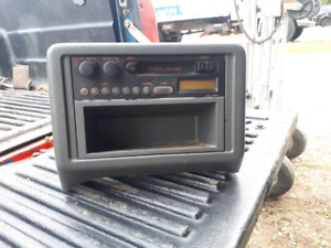 Factory Mazda B-Series Am/fm/cassette deck.