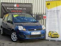 Ford Fiesta 1.4I 16V STYLE CLIMATE (blue) 2008