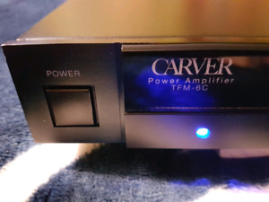 REAL NICE CARVER TFM-6C POWER AMPLIFIER