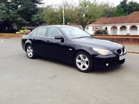 BMW 530-D -DIESEL-2004 FULL RED LEATHER-LONG MOT-FULL SERVICE-AUTO GEARBOX-FAST RELIABLE CAR-HPI