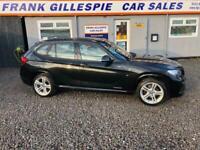 2013 BMW X1 2.0TD (181bhp) xDrive20d M Sport Station Wagon 5d 1995cc Auto 4X4 DI