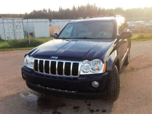 2006 Jeep Grand Cherokee limited fully loaded 4.7L