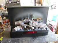 Electric . fireplace insert