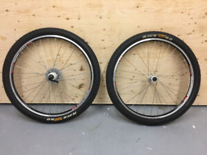 "26"" MTB Wheelset in excellent condition"