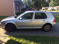 2003 Volkswagen Golf Hatchback Price Negotiable