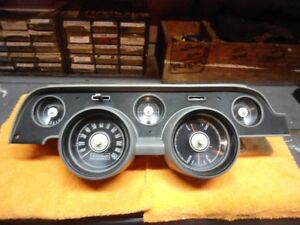 1967 Ford Mustang Coupe Non tachometer Instrument Cluster Gauges