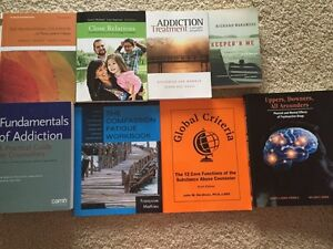 Addictions services worker textbooks ($200 OBO)