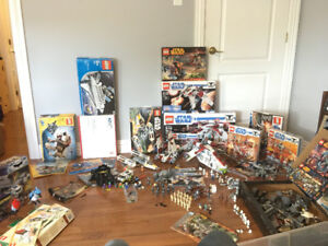 Various Lego Star Wars, Batman, and Random Sets