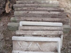 Concrete Curbs and Downspout Drains