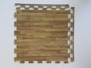 $2.50 per Brand New - soft wood pattern interlocking floor mats