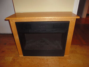 Heat Surge Electric Fireplace reduced