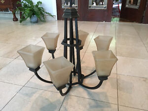 Chandelier and 3 sconces for FREE