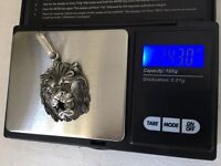 Silver sterling lion