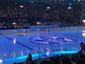 Leafs Coyotes Jan 20 GOLD Section 109 row 15: AMAZING SEATS!