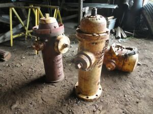 **** Salvaged Fire Hydrants and Vintage Extinguishers ****
