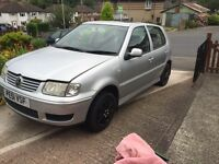 Vw polo 1.4 16v spares or repair