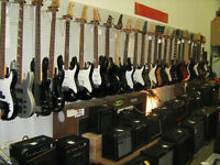 Guitar/Bass amps. heads, bottoms, PA systems and more!