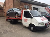 Auto-line recovery and repair service