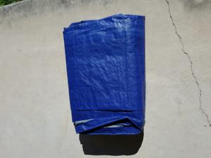 Large blue tarp new